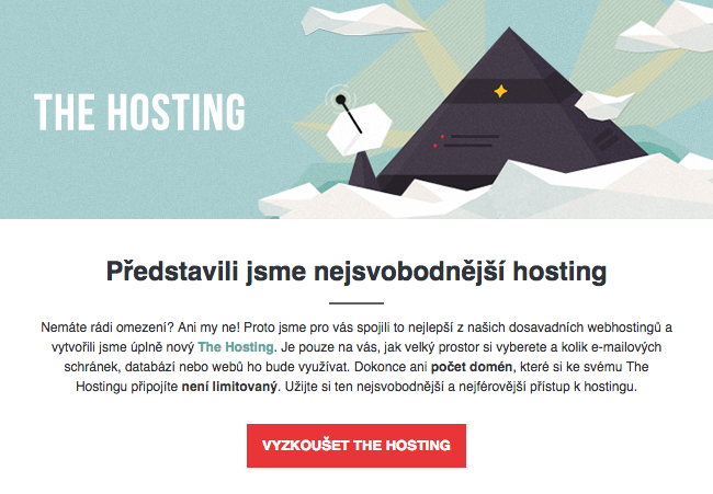 Registrujte si The Hosting