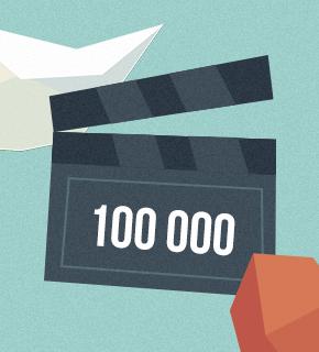 100 000 aktivních registrovaných domén